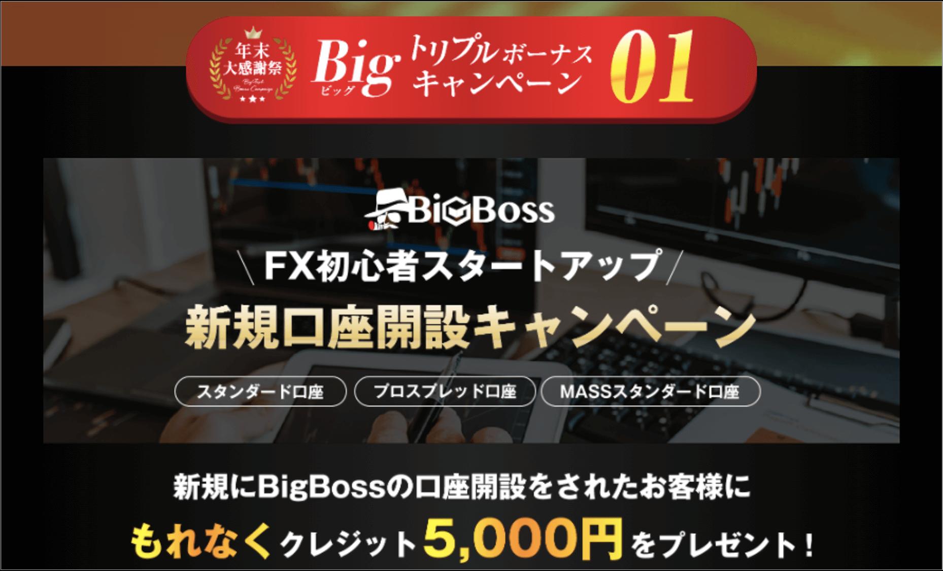 BigBoss トリプルキャンペーン①画像