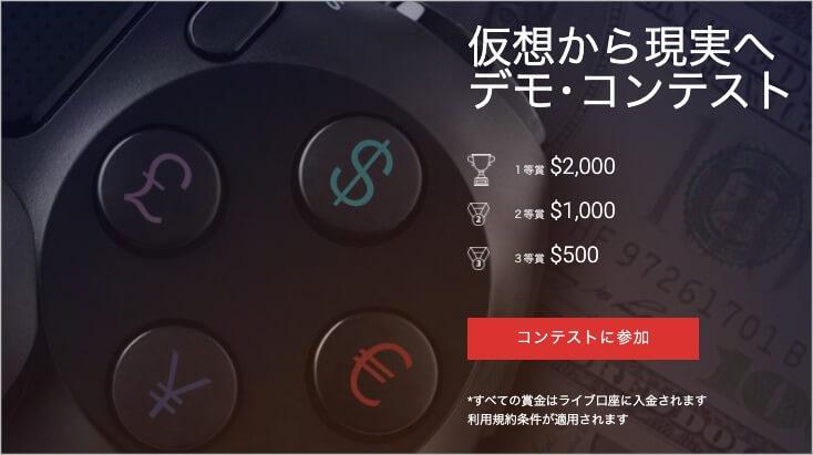 HotForex デモコンテスト